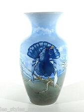 MITTERTEICH Jugendstil Art Nouveau Porzellan Vase ° Auerhahn handbemaltes Unikat