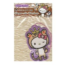 Sanrio Hello Kitty Tokidoki Paper Car Air Freshener : Grape Scented