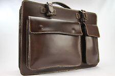 Business- und Laptoptaschen Luxus Aktentasche Mokka L