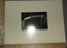 1980 Lincoln Versailles Brochure
