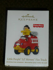 Hallmark 2011 Ornament - Little People Lil' Movers Fire Truck