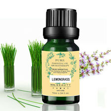 Lemongrass  Pure  Nature Plant Essential Oils 10ml Aromatherapy Therapeutic