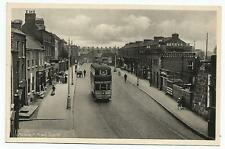 irish postcard ireland dublin ranelagh old tram transport