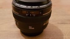 Canon EF 50mm f/1.4 USM Lens with UV filter - Excellent condition