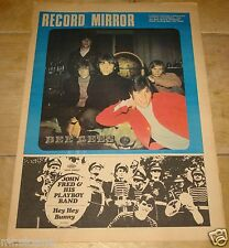 RECORD MIRROR 23 MARCH 1968 BEE GEES JOHN FRED SCAFFOLD CLIFF RINGO PAUL SIMON