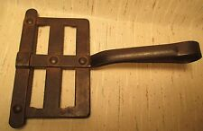 Antique 100 Year All Iron Anchor Marked Horse Curry Comb 6 rows  MAKE OFFER