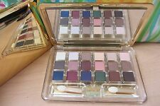 Gold Estee Lauder Deluxe Pure Color 18 EyeShadow Compact Palette Chocolate Bliss