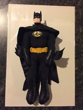 "1989 DC Comics Batman Plush 8"" Figure - Vintage Durable Collectible Free Ship"