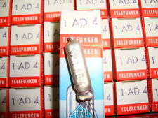 10 X 1AD4 TELEFUNKEN NOS /NIB TRIODES, WITH   . SAME CODE. CRYOTREATED