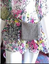 "BRAND NEW Chanel  VINTAGE ✿*゚"" SO CUTE  "" Simmering Mesh Beaded Belt Bag Pouch"