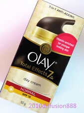 *NEW* Olay Total Effects 7-in-1 Anti-Aging (Normal) Day Cream SPF15 *50g*