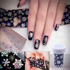 1Pc Nail Art Stickers Snowflake Nail Care Stick Manicure Starry Sky 4cm*120cm