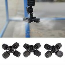 50Pc Greenhouse Garden Plant Misting Cross Sprinkler Nozzle Atomizing Humidifier