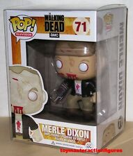 FUNKO POP TELEVISION The WALKING DEAD ZOMBIE MERLE DIXON #71 EXC Vinyl IN STOCK