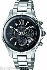 Casio Sheen SHE-5512D-1ADF Ladies Chronograph Stainless Steel Watch RRP £225.00