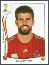 PANINI WORLD CUP 2014- #112-ESPANA-SPAIN-GERARD PIQUE