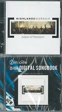 Place of Freedom by Highlands Worship (CD + CD-Rom Songbook) New