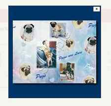 PUG - Gift Wrapping Paper w/matching Gift Card by Ruth Maystead
