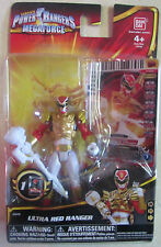 Power Rangers Megaforce Action Figure - Ultra Red Ranger - 2013 New in Package