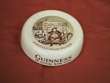 Old Cauldon Potteries Guinness Is Good For You Sam Weller Ceramic Ashtray c1950s