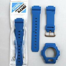 ORIGINAL CASIO G-SHOCK REPLACEMENT BAND &  BEZEL, DW-6900MM-2 DW6900MM-2, BLUE