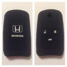 HONDA BLACK CAR FLIP KEY COVER CASE CIVIC ACCORD CR-V ODYSSEY CITY EURO FIT FOB