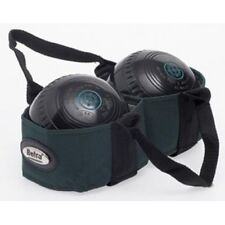 Crown Green Bowl Ball Holdall Short Handle Carry Bag 2 Bowls Harness
