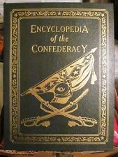 E71  ~ EASTON PRESS ~ LEATHER ~ ENCYCLOPEDIA OF THE CONFEDERACY
