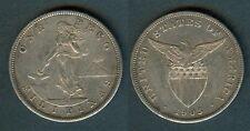 1 Peso 1903-S US Philippine Coin VF #4