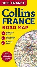 2015 France: Collins France Road Map (Collins Road Map), Collins Maps, New Books