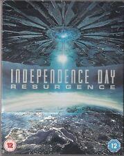 INDEPENDENCE DAY RESURGENCE 3D ZAVVI Ltd Edition Blu-Ray Steelbook Reg FREE NEW