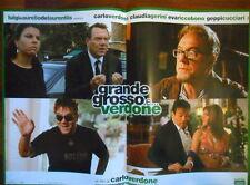 """LOCANDINA FILM """"GRANDE GROSSO E VERDONE"""" CON E DI C. VERDONE / B - F.TO 47X67"""