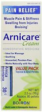 Boiron - Arnica Cream Value Pack Cream and Arnica 30C, 2.5 oz