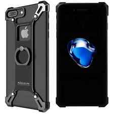 iPhone 7 Plus Cover Case, Nillkin Metal Case Built-in Ring Grip Kickstand/Mount