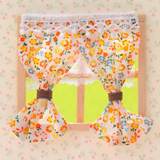 Sylvanian Families CURTAIN M SIZE x 2 Epoch Japan Calico Critters