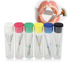 6 Bottles Woodpecker NITI U-FILE Tip Used for Root Canal Cleaning #15-40 Sale