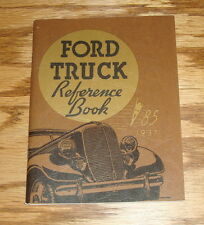 1937 Ford Truck Owners Operators Manual Reference Book 37