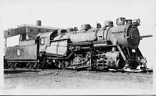 A738 RPPC 1952 CRR NJ JERSEY CENTRAL RAILROAD  ENGINE #317 COMMUNIPAW NJ