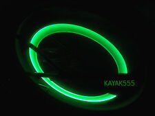 2 Bike Bicycle motorcycle cycling valve rim wheel lights NEON LED Reflectors car