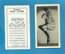 Original Hill`s cigarette cards - MODERN BEAUTIES - FAMOUS FILM STARS - 1939