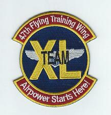 """47th FLYING TRAINING WING """"TEAM XL"""" patch"""