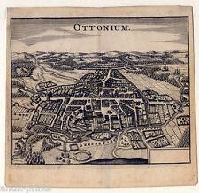 Odense-Ottensee-Ottonium - Kupferstich Zeiller 1655 Selten!