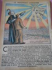 Le Nouveau Labarum La Croix des jeunes gens dessin Print 1935