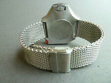 Divers SHARK mesh bracelet / BAND / CINTURINO PER OMEGA PloProf Seamaster 600 WATCH 0,24 mm