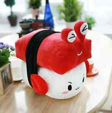 """Cotton Food SUSHI PILLOW Cushion Red Crab Toy Doll Interior 6""""(15cm) Free Ship"""