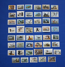 U.S.  1991 State Duck Stamp Collection - 47 MNH stamps