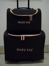 Mary Kay Luggage Rolling Accessory & Suit Case Carry On Tote #1508