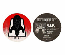 ROCKET FROM THE CRYPT R.I.P RARE Discontinued Sticker +FREE Punk Rock Stickers!