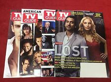TV GUIDE MAGAZINES MARCH 2008 (LOST/OBAMA ELECTION/IDOL/TUDORS/1015120) SET OF 4