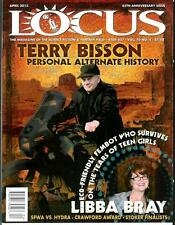 LOCUS #627, 4/13, rare US sci-fi mag, Terry Bisson, alternate history SF, news
